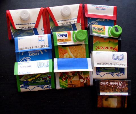 Recycling Tetrapak Wallets